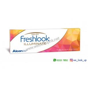 Alcon® FRESHLOOK ILLUMINATE 1-DAY 10PCS (日棄彩妝隱形眼鏡)*韓國版*訂貨2-3天*