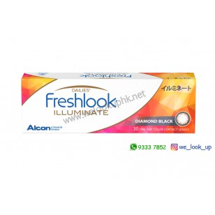Alcon® FRESHLOOK ILLUMINATE 1-DAY 30PCS (日棄彩妝隱形眼鏡)*韓國版*訂貨3-5天*
