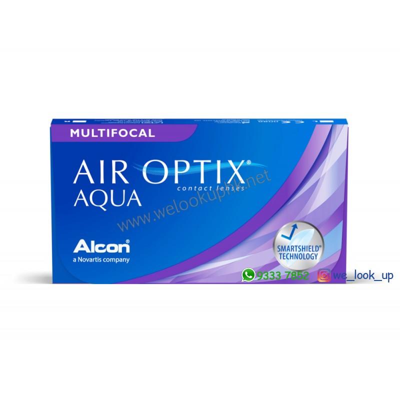 Alcon® AIR OPTIX AQUA for MULTIFOCAL 1-Month (月棄漸進透明隱形眼鏡)