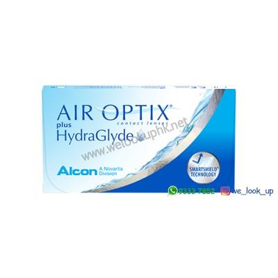 Alcon® AIR OPTIX HydraGlyde 1-Month (每月棄近視透明隱形眼鏡)