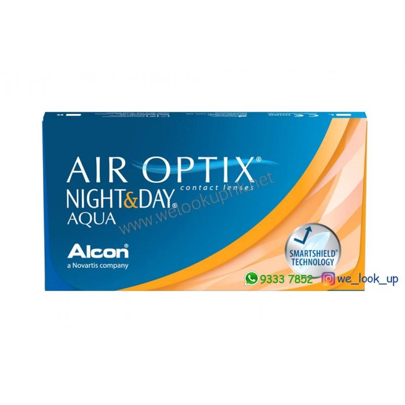 Alcon® AIR OPTIX NIGHT&DAY AQUA 1-Month (每月棄近視透明隱形眼鏡)