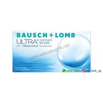 BAUSCH & LOMB ULTRA®with MoistureSeal 1-Month (每月棄近視/遠視透明隱形眼鏡)