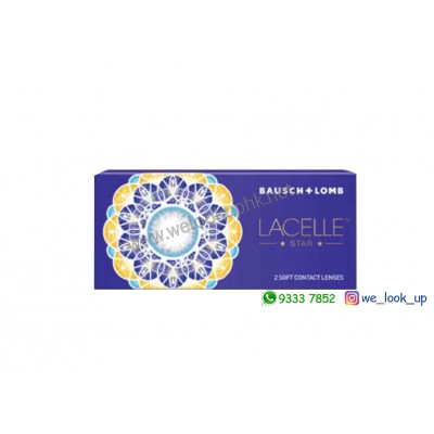 BAUSCH & LOMB Lacelle®Star 1-Month大眼CON系列 - 星炫CON (月棄彩妝隱形眼鏡)