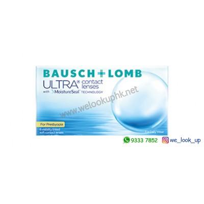 BAUSCH & LOMB ULTRA® with MoistureSeal for PRESBYOPIA 1-Month (月棄漸進透明隱形眼鏡)