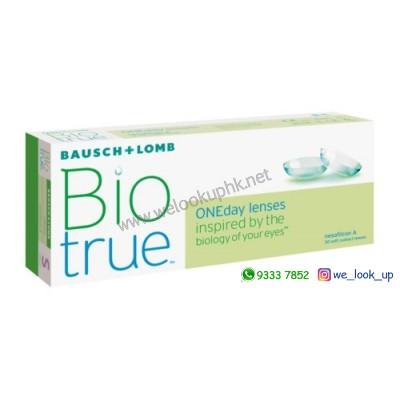 BAUSCH & LOMB Biotrue 1-DAY (日棄近視/遠視透明隱形眼鏡)