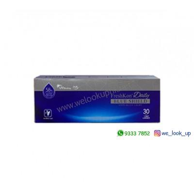 FreshKon® Daily Blue Shield 1-DAY (日棄近視防藍光透明隱形眼鏡)