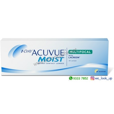 ACUVUE® MOIST® MULTIFOCAL 1-DAY (日棄漸進透明隱形眼鏡)