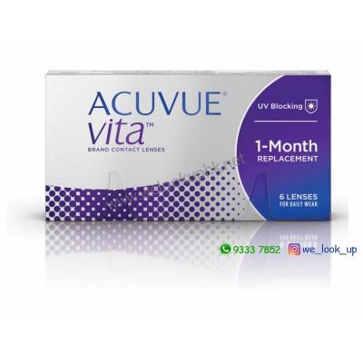 ACUVUE® VITA™ 1-Month (每月棄近視/遠視透明隱形眼鏡)