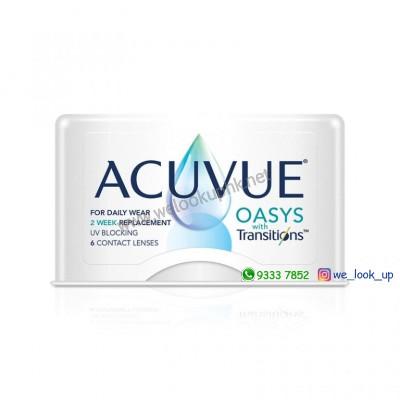 ACUVUE® Oasys® 2-Week with Transitions™(兩星期棄近視/遠視透明隱形眼鏡)