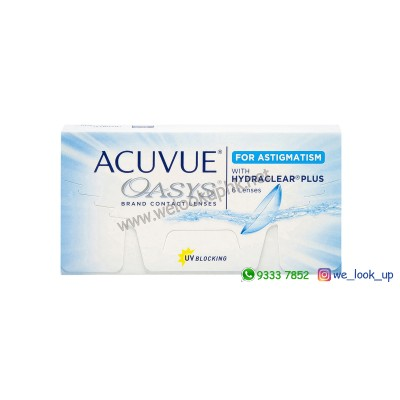 ACUVUE® Oasys® 2-Week FOR ASTIGMATISM (兩星期棄散光隱形眼鏡)